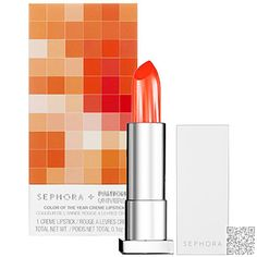 2. #Sephora + Pantone #Universe Tangerine #Tango Cream #Lipstick - 13 Gorgeous #Lipsticks Ideal for Dark Skin ... → #Makeup #Cosmetics
