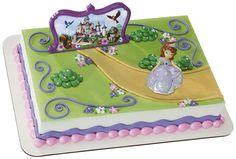 Disney Junior Sofia the First Cake Topper Set from BirthdayExpress.com