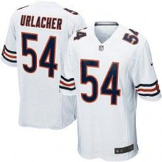 Youth Nike Chicago Bears #54 Brian Urlacher Elite White Jersey$79.99