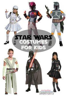Star Wars Halloween costumes for kids.