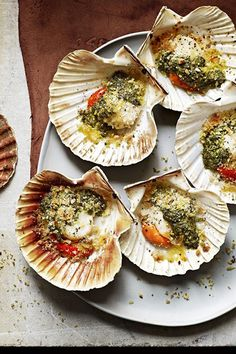 Dj bbqs scallops recipe jamie oliver foods and clams grilled scallops with anchovy mint and coriander jamie oliver forumfinder Choice Image