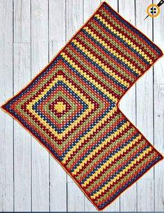 Crochet Patterns Hat Easy Granny Shawl & Ruana & Treble Crochet Hat pattern - -Mainly . Crochet Poncho Patterns, Crochet Shawls And Wraps, Crochet Jacket, Crochet Cardigan, Knitted Shawls, Crochet Scarves, Crochet Clothes, Crochet Stitches For Blankets, Crochet Collar