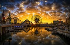 Came across this amazing sunset over Paradise Pier a few weeks ago while shooting with some friends.