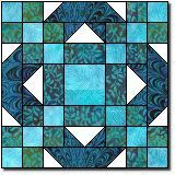 Crossed Roads to Oklahoma, The Quilter's Cache, Marcia Hohn pattern Barn Quilt Designs, Barn Quilt Patterns, Pattern Blocks, Quilting Designs, Batik Quilts, Scrappy Quilts, Blue Quilts, Zentangle, Blackwork
