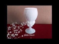 Fincandan Dökülen Çiçek Şelalesi Yapılışı - Kendin Yap, Hobi - YouTube