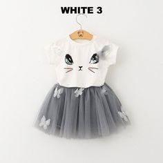 Jarsh 2Pcs//Set Cute Baby Girls Outfit Set Lolly Bowknot T-Shirt Tops+Short Pants Clothes Set
