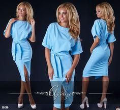 Приталенное платье с разрезом спереди, новая коллекция, низкая цена, качество…