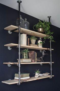 11 best industrial shelving diy images industrial furniture rh pinterest com