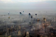 The series of pictures below of the Shanghai skyline won the second prize in the Shanghai City Photography Competition. However, these pictures were not . Tour Shanghai, Shanghai Tower, Shanghai Skyline, Shanghai City, City Photography, Aerial Photography, Photo Ciel, Photoshop, Urban Landscape