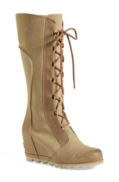 SOREL  Cate the Great  Waterproof Wedge Boot (Women) available at  Nordstrom fd4726fcdfc
