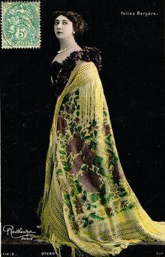 "Carolina ""La Belle"" Otero (4 November 1868 – 12 April 1965) was a Spanish-born dancer, actress and courtesan."