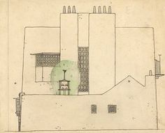 Artists house in the country by Charles Rennie Mackintosh - He's been stereotyped as difficult and uncompromising, but there's no denying Mackintosh's raw talent in this definitive look at his architectural drawings