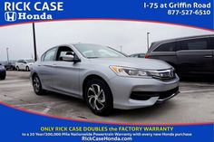 Check out this 2016 Honda Accord Sedan on the Rick Case Honda Facebook app.  0.9% for 24-60 months or 1.9% APR for 37-60 months. Expires: 2-29-16