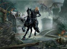 Lady warrior by YuriPlatov