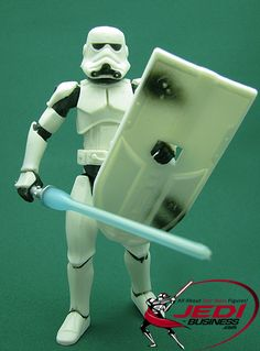 Star Wars Action Figure Stormtrooper (McQuarrie Concept Series), Star Wars SAGA