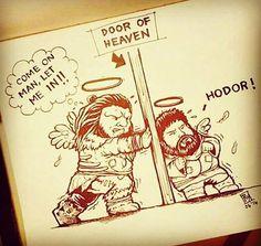😱😱 #hodor #wunwun #gigantes ##got6season #gotseason6 #gameofthronesfan #followme #gameofthronesseason6 #gameofthronesfamily #hbo  #gameofthroneshbo #got  #gameofthrones #grrmartin Hodor Hold The Door, Alfie Allen, Catelyn Stark, Nikolaj Coster Waldau, Game Of Thrones Funny, Cersei, Kit Harington, Maisie Williams, Winter Is Coming