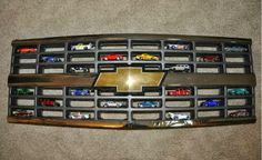 Hot Wheels Racing: Hot Wheels Display - Chevy Grill