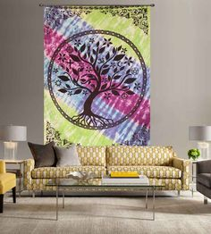 Shop tree of life wall hanging tapestry at low price from hadicrunch.