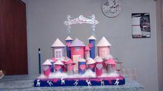 Princess castle advent calendar for my niece :) 2015