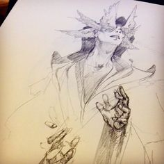Eyes on the inside #angelarium #sketch #instaart #art #drawing #conceptart