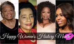 """How important it is for us to recognize and celebrate our heroes and she-roes!"" -- Maya Angelou  Beauties, March is Women's History Month. Comment under this post with your favorite quote from one of these legendary ladies."