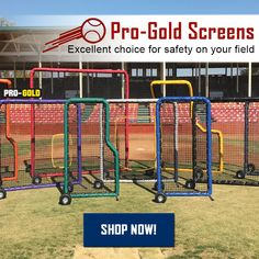 Looking for Gold this St. Shop Pro-Gold protective screens now! Baseball Training, St Paddys Day, Softball, Screens, Coaching, Tips, Shop, Sports, Gold