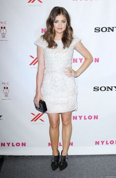 Lucy Hale - Nylon September 2012 Issue Party