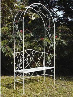 Garden Arch With Bench, Http://www.littlewoods.com/garden