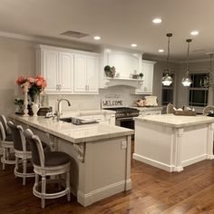 What do you get when you cross an industrial lamp with a crystal chandelier? A mixed-media masterpiece. Farmhouse Style Kitchen, Kitchen Redo, Home Decor Kitchen, Interior Design Kitchen, Mobile Home Kitchens, Kitchen Ideas, Open Concept Kitchen, Open Kitchen Layouts, Open Concept Floor Plans