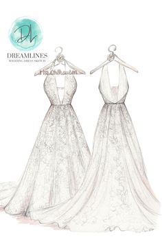 Personalized sketch of her wedding day. A gift to take her breath away. Her wedding dress sketched and framed. #weddingdresssketch #dreamlinesweddingdresssketch #dreamlinessketch #anniversarygift #weddinggift #bridegift #bridalshowergift Romantic Gifts For Wife, Best Gift For Wife, Bridesmaid Tips, Bridesmaid Dresses, Wedding Dresses, Wedding Shower Gifts, Wedding Gifts, Wedding Vendors, Weddings