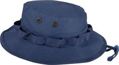 Navy Blue Military Wide Brim Fishing Hunting Boonie Hat d226ae115c8