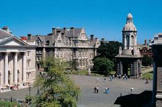 Trinity University in Dublin, Ireland. One of the oldest and most beautiful campuses on earth.