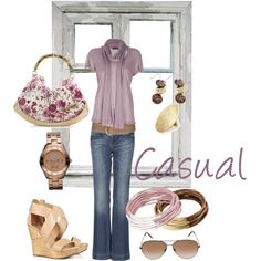 Casual, created by laura-di-rosa on Polyvore