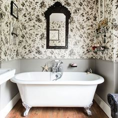 Bathroom | Take a tour around a detached Edwardian home in Worcestershire | House tour | PHOTO GALLERY | 25 Beautiful Homes | Housetohome.co...