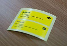 옐로아이디 스티커 Yellow ID Stickers