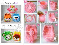 Bichinhos Coruja em Crochê -  /    Doggies  Owl Crochet -