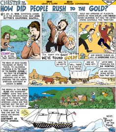 CHESTER the Crab VA SOL aligned comix! a great way to supplement your history lessons!