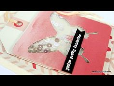 Video by Vicky using the October 2015 card kit by Simon Says Stamp for a Fun Shaker card.