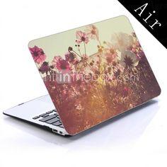 wildflower design hele kroppen beskyttende plastic tilfældet for 11-tommer / 13 tommer ny mac book air 2015 – €151.00