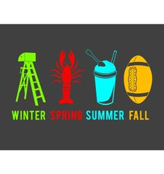 Seasons in the south