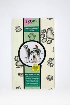 SKOY-Cloth-Earth-Friendly100-Biodegradable-Natural-2-Pk-Large-with-Paw-Prints