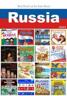 Russian Books for Children; learn about Russia with this collection of fiction, non-fiction, and how-to learn Russian Language books from The Educators' Spin On It: