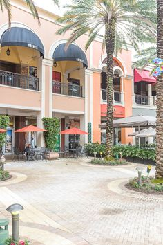 Shopping at CityPlace in downtown West Palm Beach