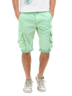 Spring has sprung. Mint green pants with white shoes almost looks ...