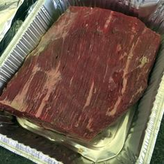 Smoked brisket flat is seasoned with a simple Texas-style method, but results in big flavor and a moist smoked meat that is ideal for slicing. Traeger Recipes, Roast Beef Recipes, Grilling Recipes, Crockpot Recipes, Grilling Tips, Game Recipes, Smoker Recipes, Smoked Brisket Flat Recipe, Smoked Beef Brisket
