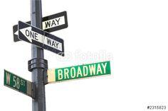Photo: broadway sign