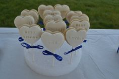 I made this customized cookies for my sister's bridal shower. Cupcakes Design, Custom Cookies, Fondant, Bridal Shower, Shower Party, Fondant Icing, Bridal Showers, Bachelorette Parties, Candy