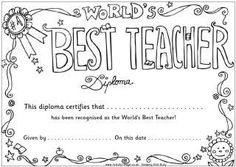 Download our Teacher Appreciation Certificate to give to