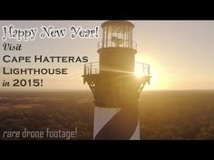 Cape Hatteras in OBX aerial video - YouTube
