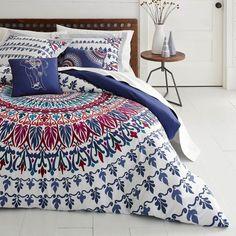 Henna Medallion Bonus Comforter Set by Azalea Skye - 218119